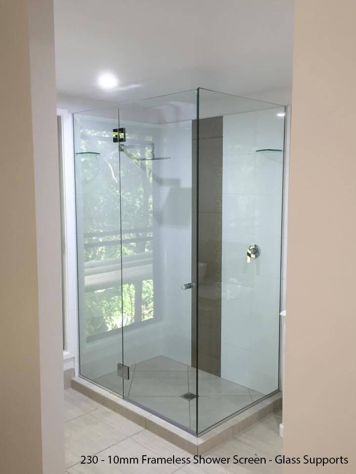 Frameless Shower Screen Ultimate Shower Screen