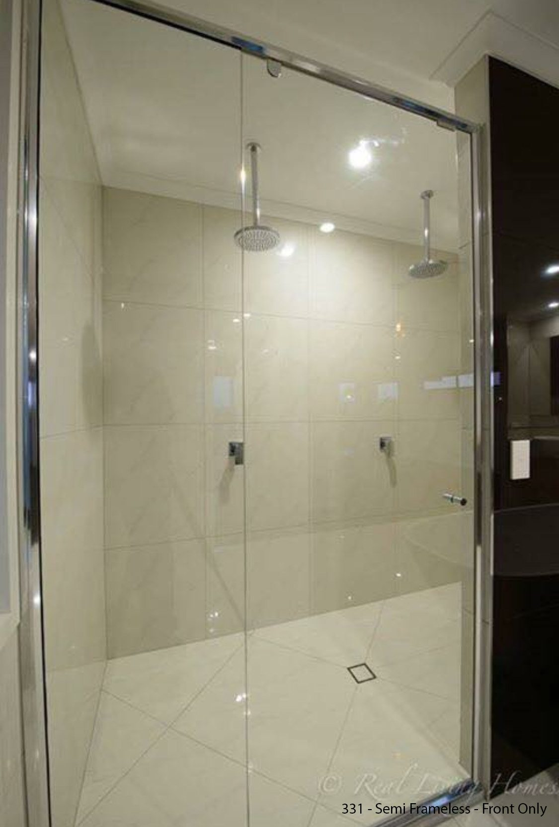 Semi Frameless Shower Screens Ultimate Shower Screen