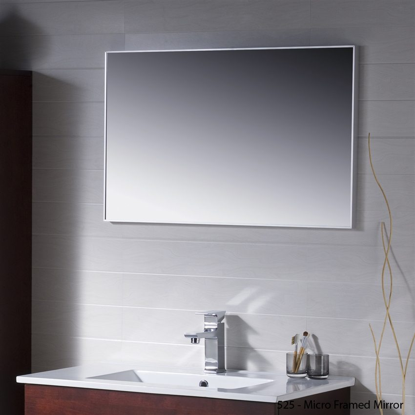 Micro Framed Mirrors - Ultimate Shower Screen